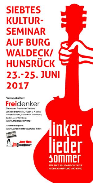 7. Linker Liedersommer auf Burg Waldeck 2017